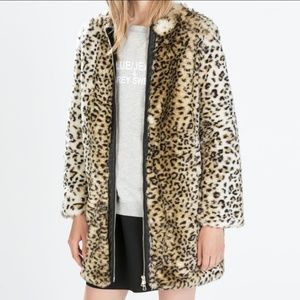 Zara Leopard Print Jacket